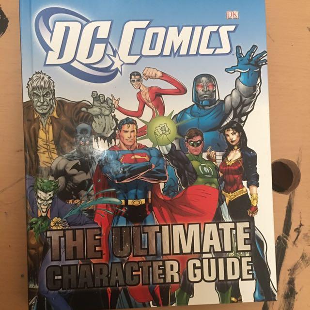 DC comics character guide
