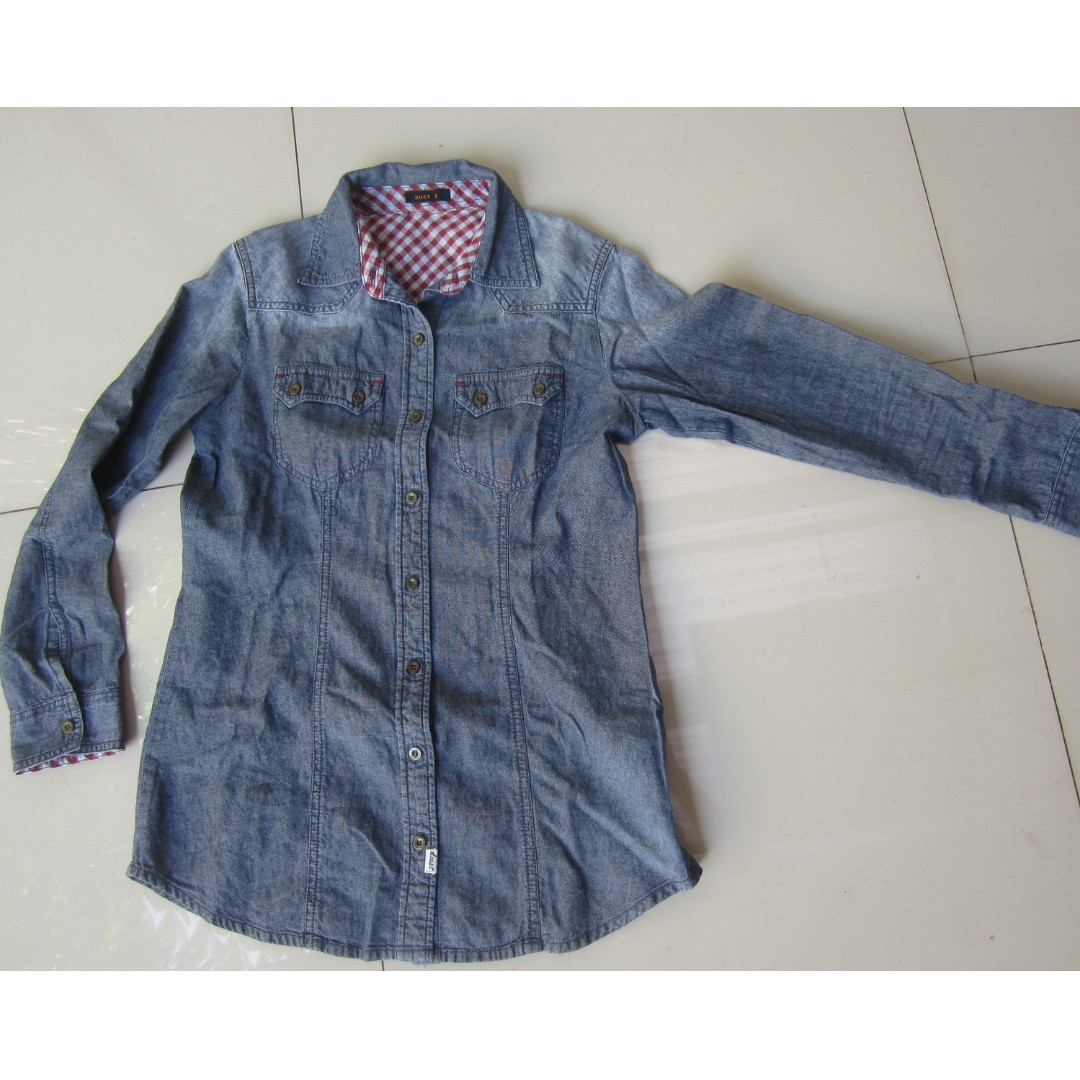 Denim Shirt - Dust (S)