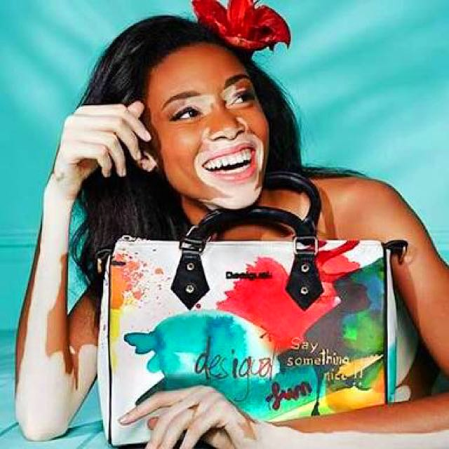 Desigual Bag Bowling Painter Authentic