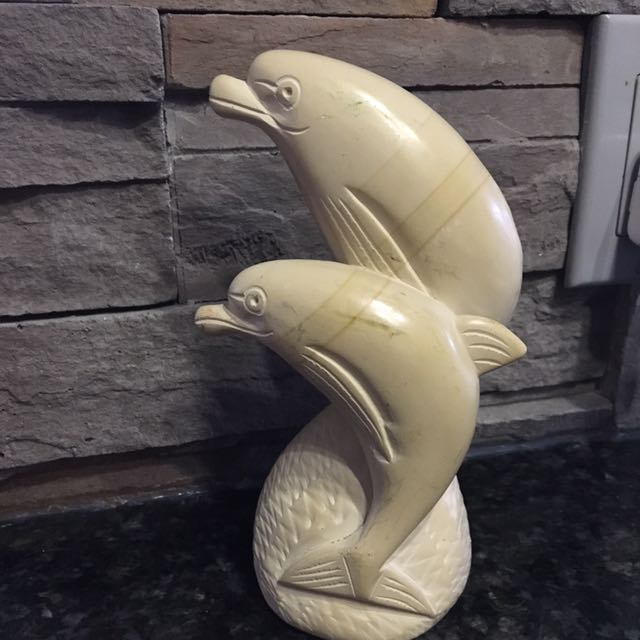 Dolphin hand crafted sculpture