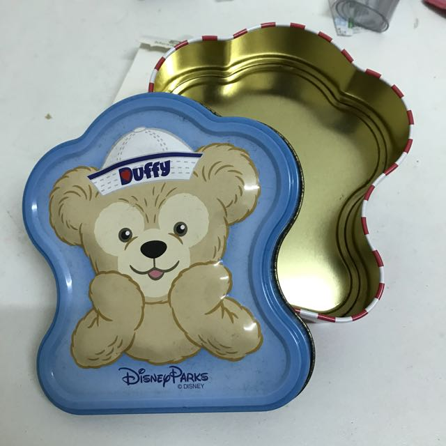 迪士尼DUFFY熊鐵盒