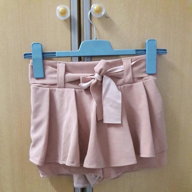 Dusty Pink Skort 裤裙