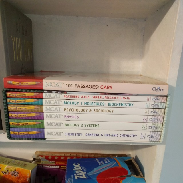 EXAMKRACKER MCAT books