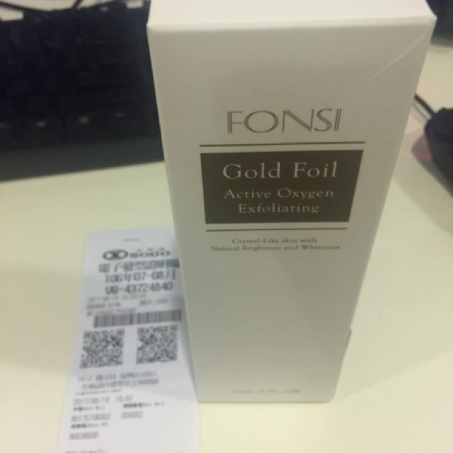 FONSI微金活氧去角質 110ml