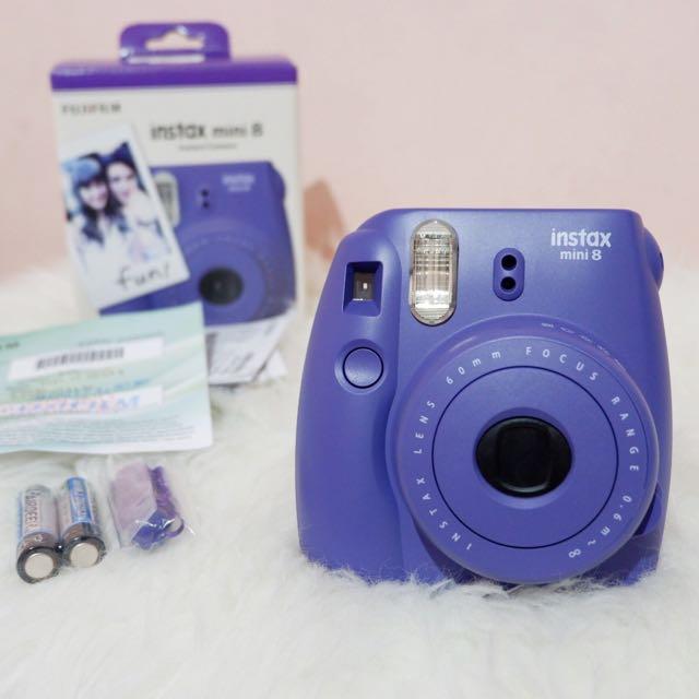 Fujifilm Polaroid Intsax Mini 8
