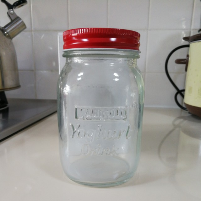 Glass canister, Jar