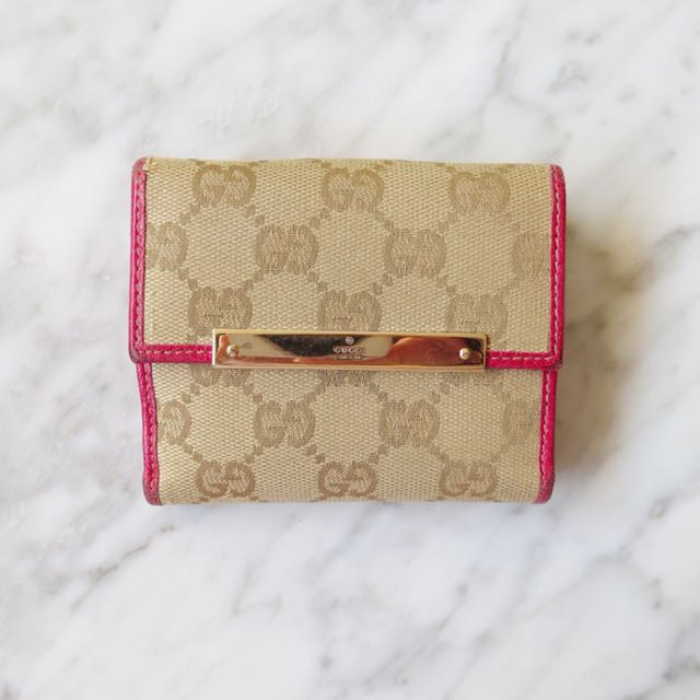 Gucci Compact Wallet in Canvas