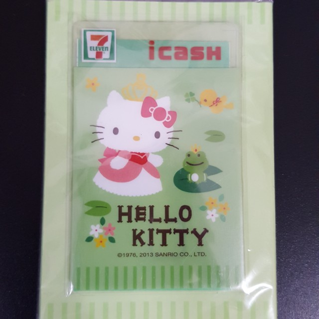 Hello kitty 7-11 icash卡