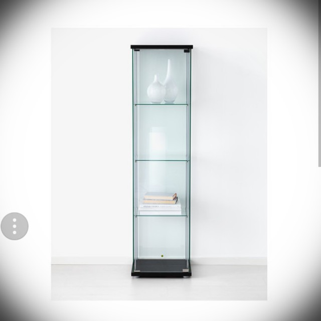 Ikea Glass Display Cabinet Furniture Home Decor On Carousell