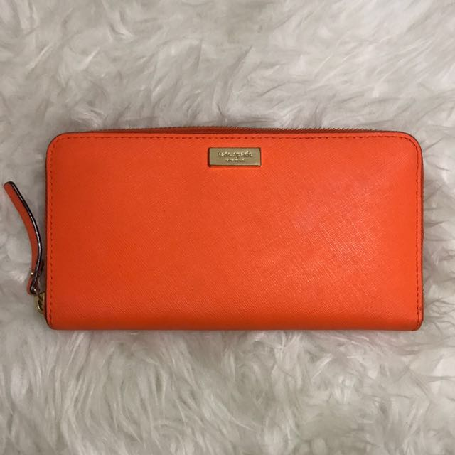 Kate Spade Zip Around Wallet (100% Authentic)