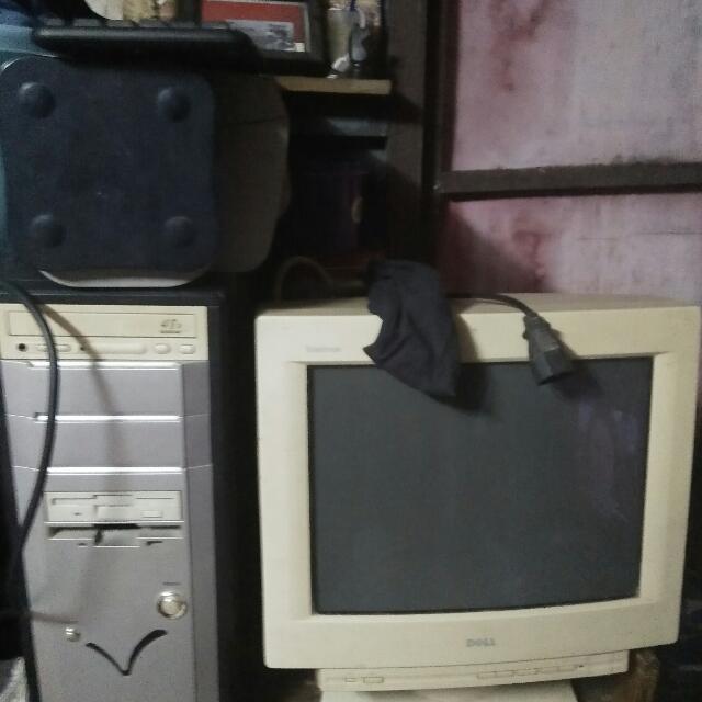 Komputer (Monitor+printer+cpu)