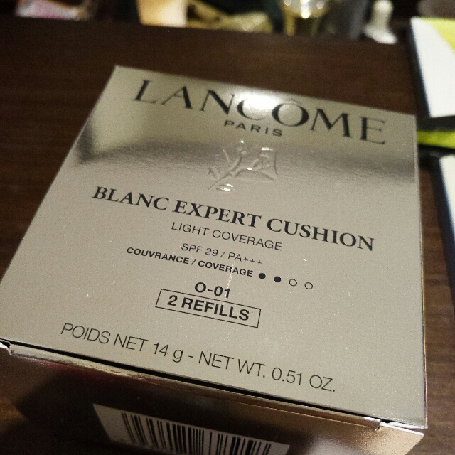 Lancome 氣墊粉餅 (水亮版)