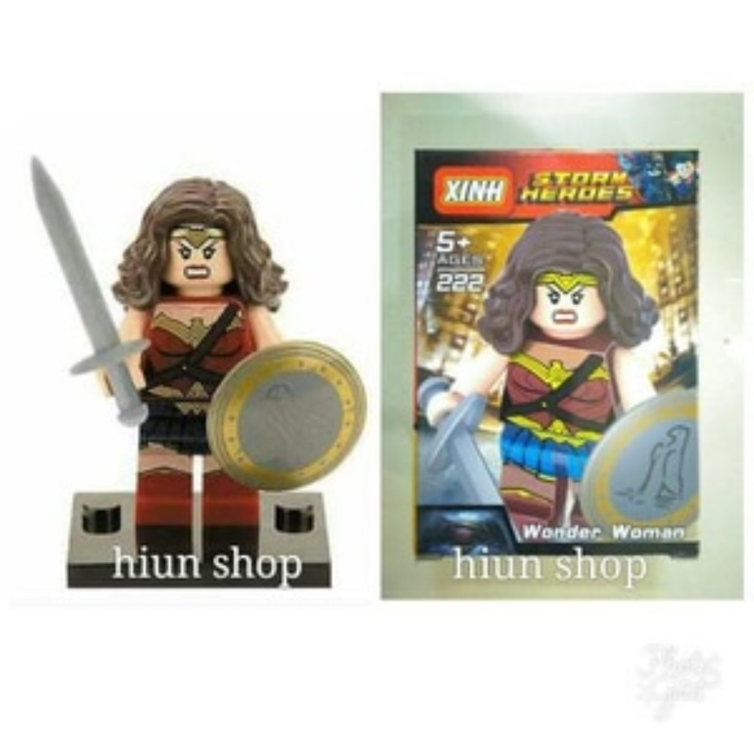 Lego minifigure super hero wonder woman X 222