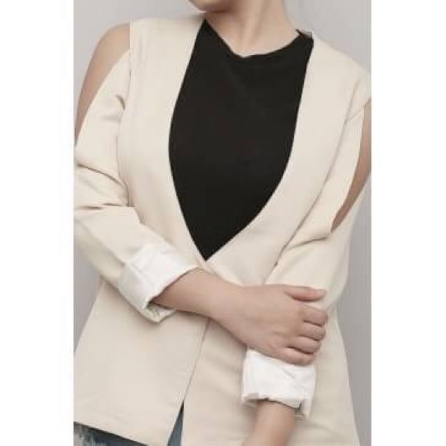 Lempicks Cut Out Blazer