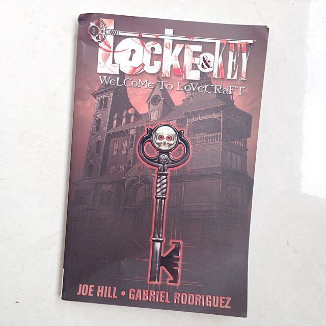 Locke & Key Vol. 1: Welcome to Lovecraft by Joe Hill and Gabriel Rodriguez