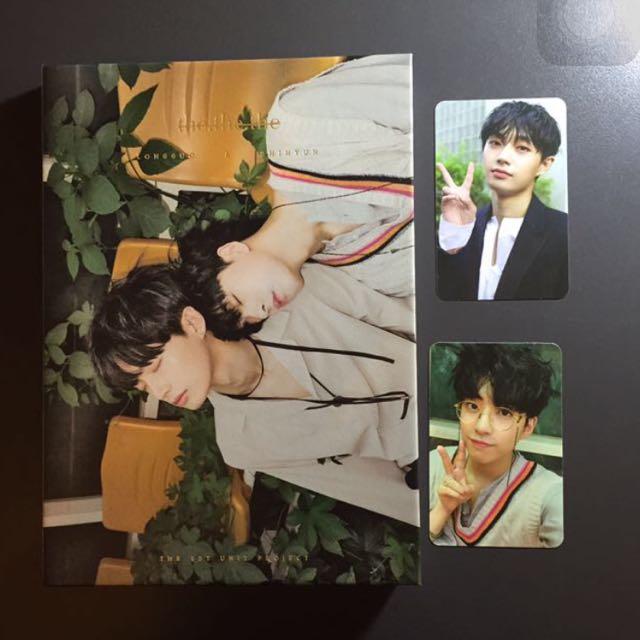 Longguo and Shihyun the the the album