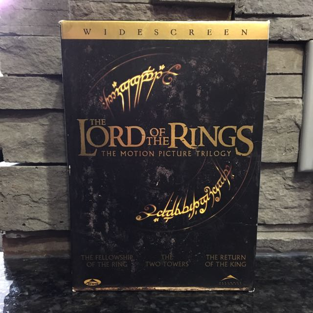 Lord of the Rings Collectible Blue Ray CDs!