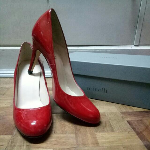 Minelli Red Heels
