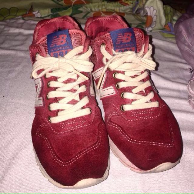 New Balance 996 Womens Wool Vermillion Red Shoes (Limited Edition)