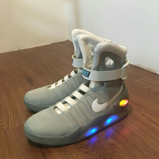 new product 7517c 10aba nike air mag size 10 for sale