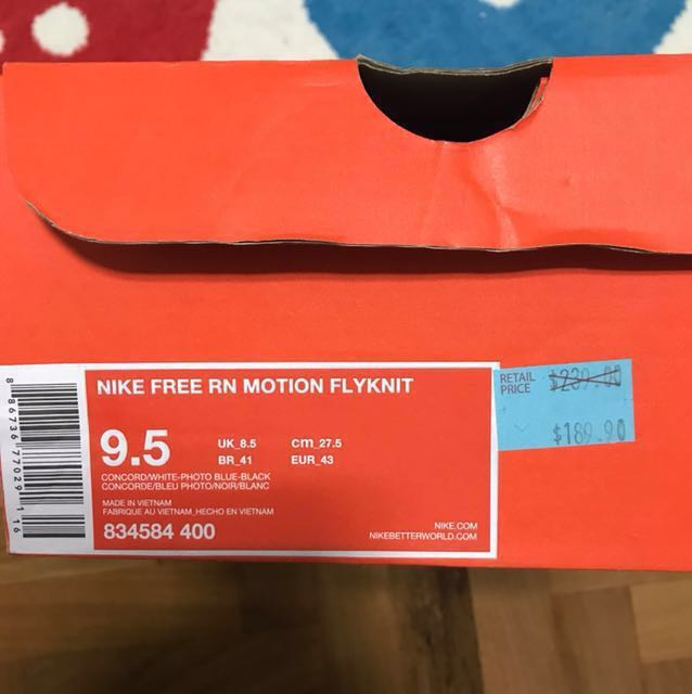 d177557735ad Nike free rn motion fn authentic