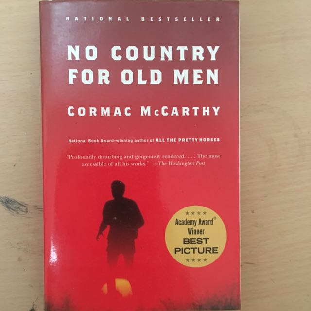 No country for old men Cormack McCarthy