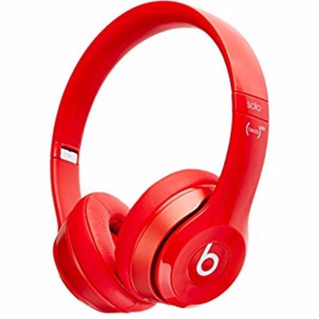 Original Beats Wireless Solo 3 Product Red 87011e04aa28