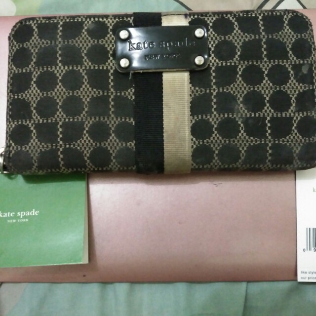 Original Kate Spade Wallet Neda Classic Noel Black (Authentic)