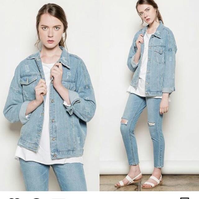 Overloose Denim Jacket