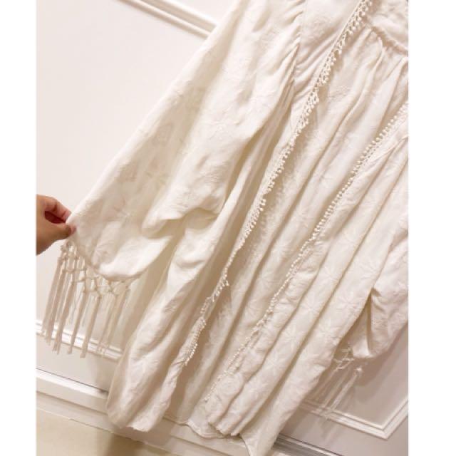 Pazzo白色罩衫