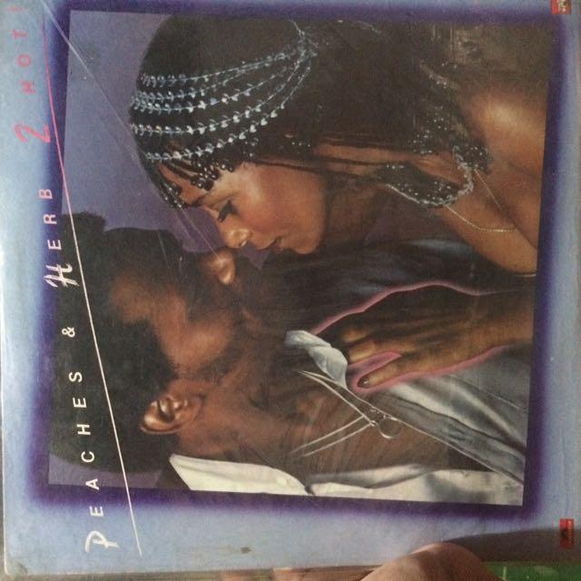 Peaches And Herb Vinyl Records Plaka LP