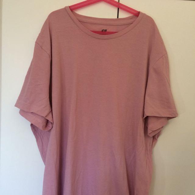 Pink H&M T-Shirt Sz XL