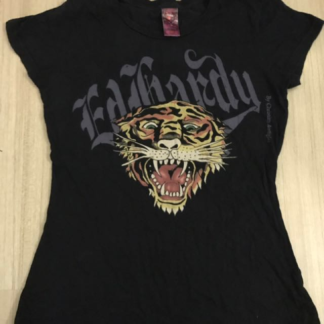 Pre❤️Ed Hardy Short Sleeve Tiger T-Shirt Original
