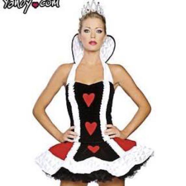 Queen of Hearts dress up Halloween costume