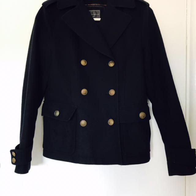 REDUCED!!Navy Wool Jacket