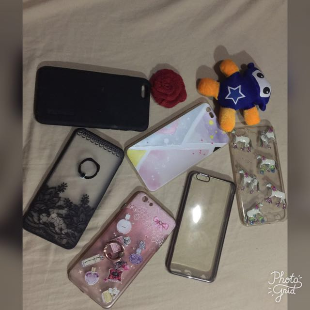 Repriced! Take all for 499.00php only iphone 6plus case