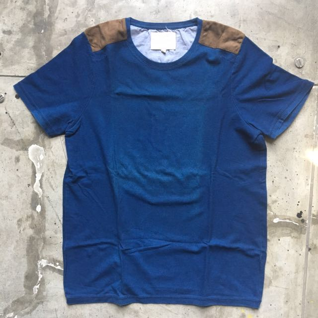 River Island Shoulder Patch Tee