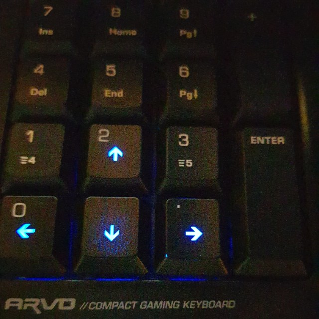 8d71a8a0610 Roccat Arvo compact gaming keyboard, Electronics, Computer Parts &  Accessories on Carousell