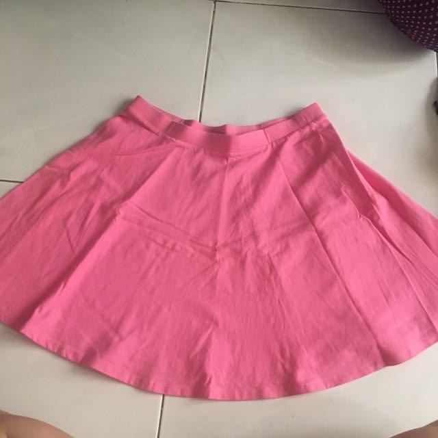 Rok Flare Skirt Forever 21