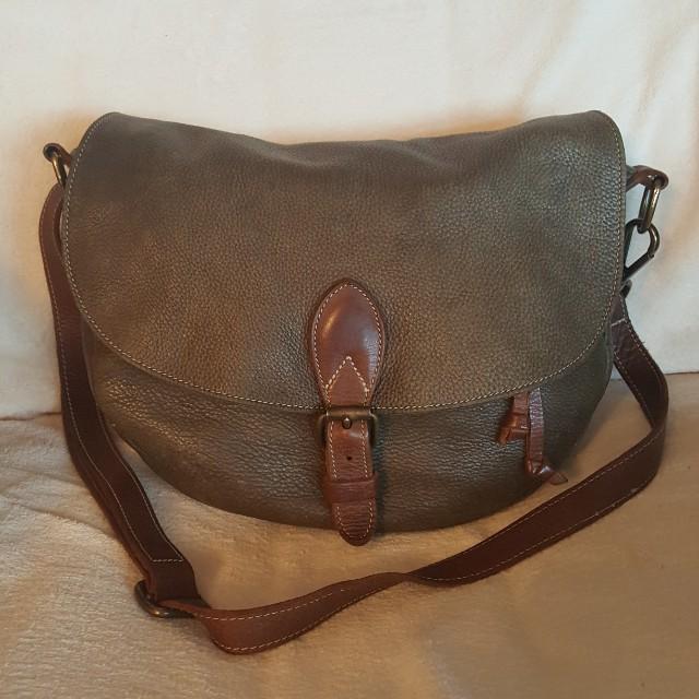 Roots Saddle Bag