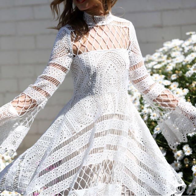 RRP $300 Friend in Fashion X Decjuba capsule dress