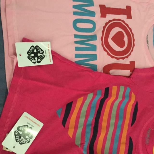 SALE - package of 2 sz 2y Oshkosh Tshirt