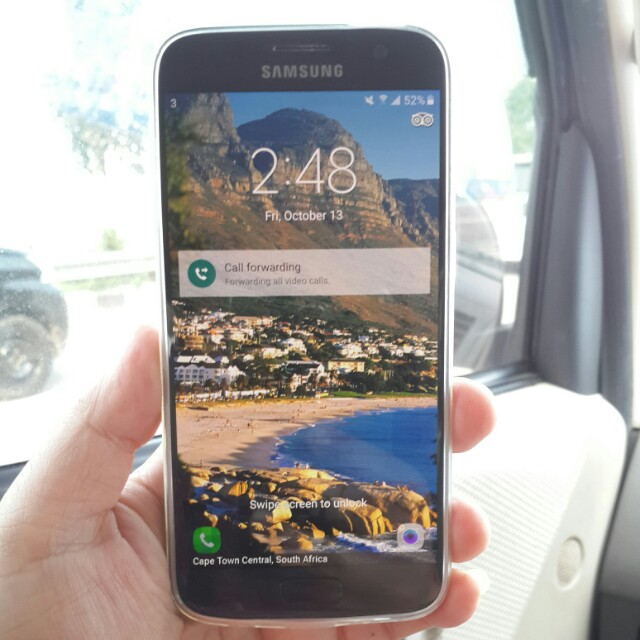 Samsung Galaxy S7 Flat 32GB Elektronik Telepon Seluler Di Carousell