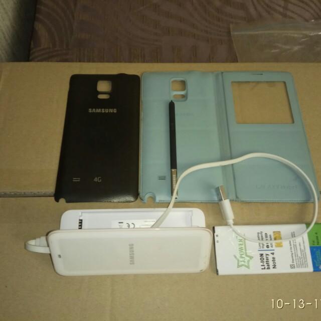 Samsung Note 4 (parts & accessories)