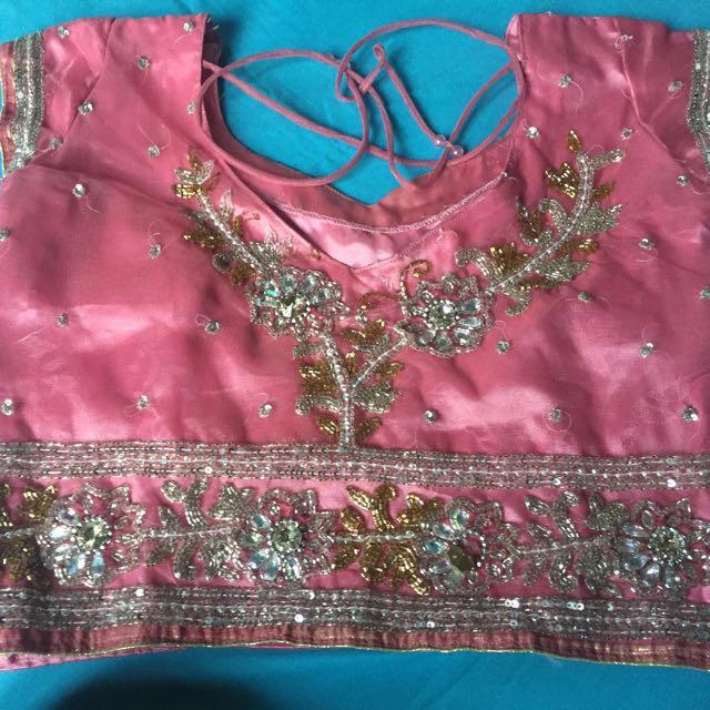 Sari India Pink