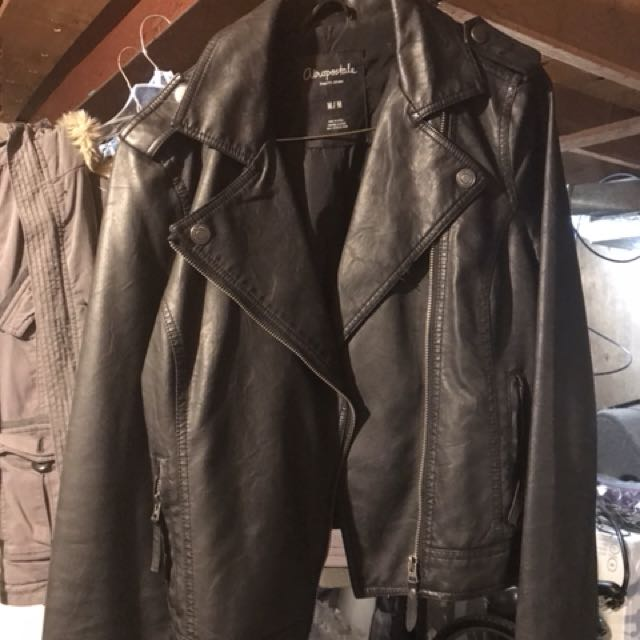 Selling an Aeropostale pleather jacket