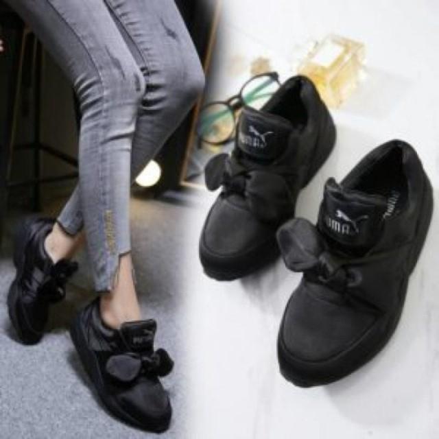 Sepatu puma rihanna KW A   sepatu kets pita   sepatu sekolah   sepatu casual    sepatu cewek   sneakers wanita c354a9f225