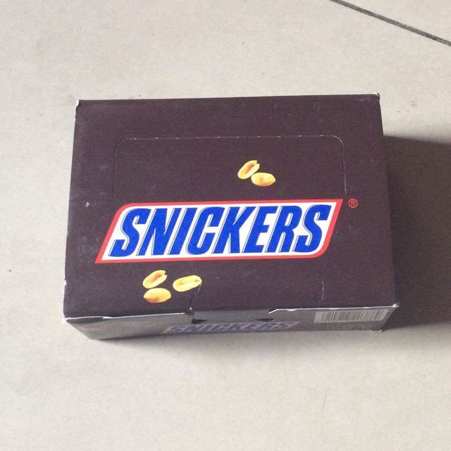 Snickers 12 Pcs. (20gms)