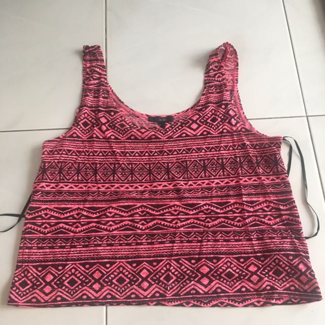 Tank Top Forever 21 Tribal