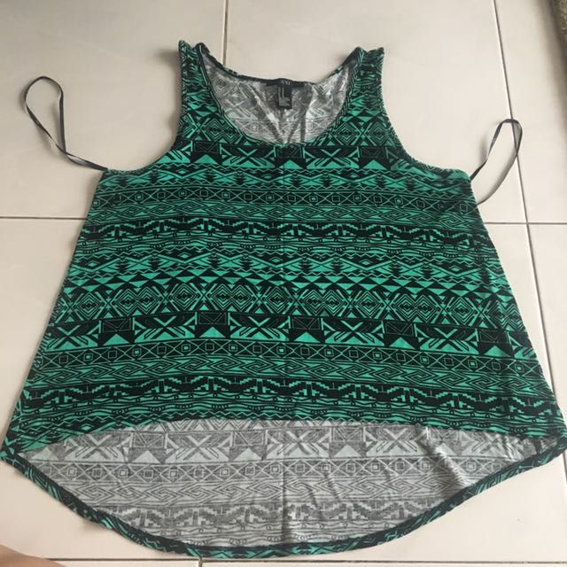 Tank Top Tribal Forever 21
